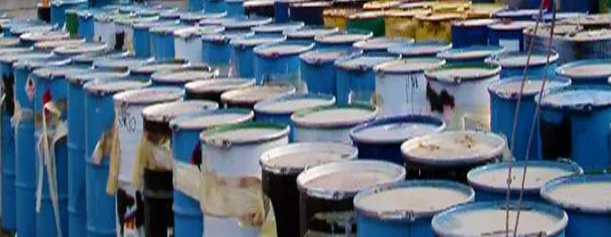 Consulenza sulla Classificazione, Stoccaggio e Smaltimento rifiuti